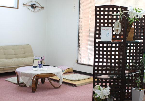 鹿児島市鍼灸院の待合室